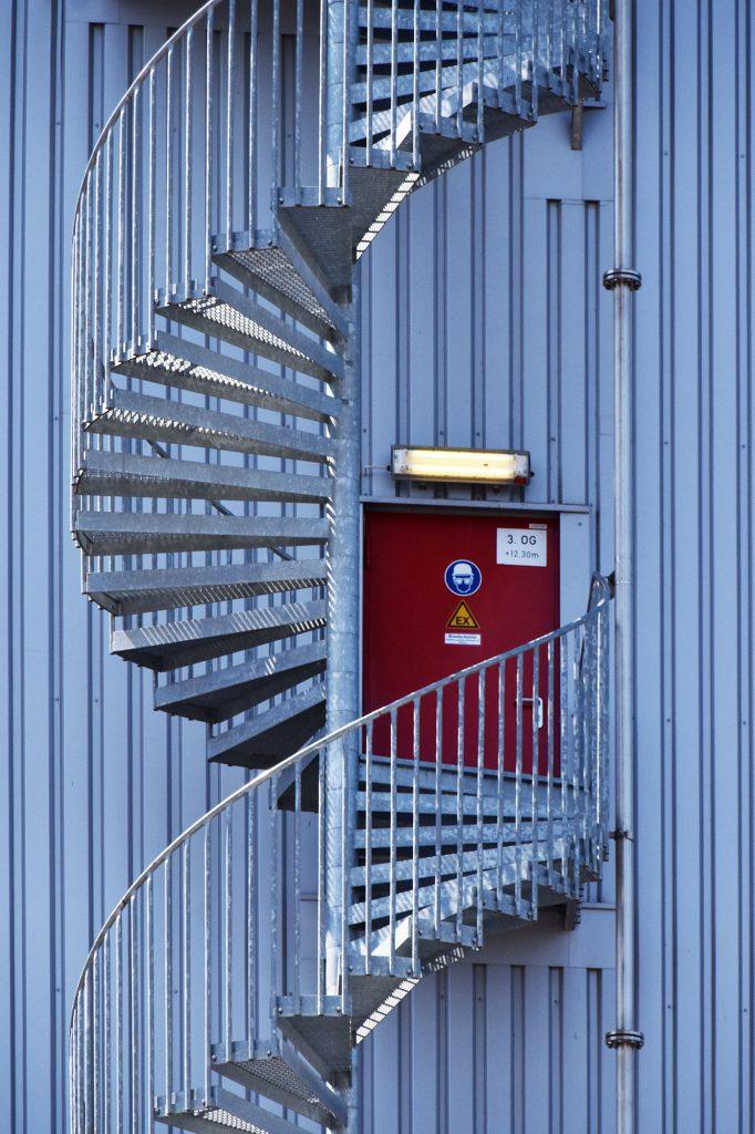 Fabrik Treppe