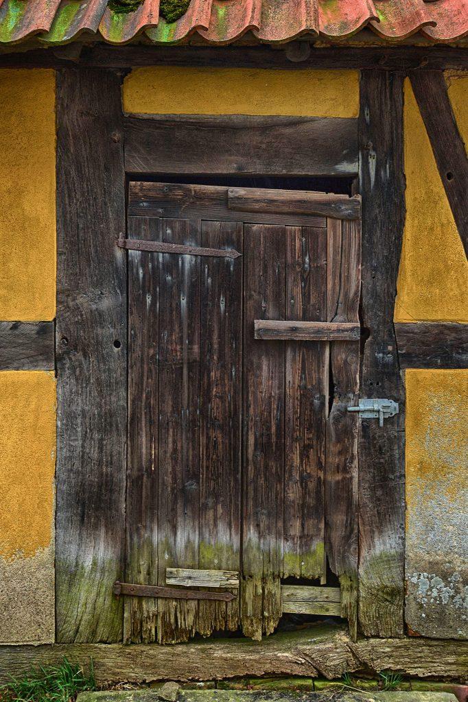 Tür Alt Haus Fachwerk